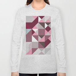 Scandi Geo Long Sleeve T-shirt