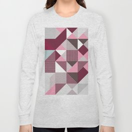 Scandi Geo Long Sleeve T-shirt