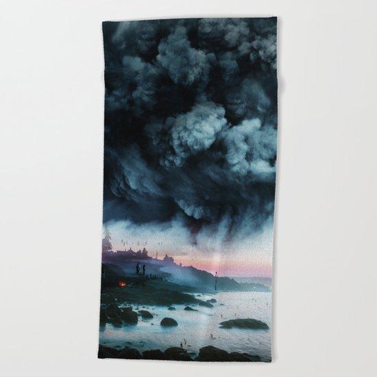 Atomic Boy Beach Towel