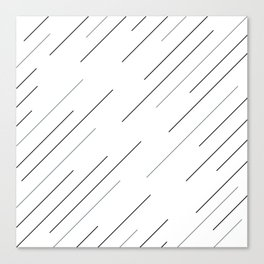 Clear start Canvas Print