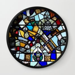 Beauty in Brokenness Andreas 2 Wall Clock