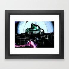 The Defender Framed Art Print
