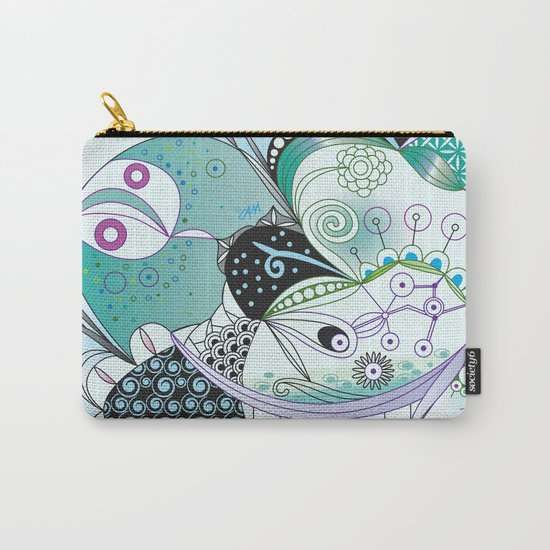 Winter tangle Carry-All Pouch