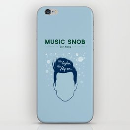 Even HIGHER, Even FLY-er — Music Snob Tip #074.5 iPhone Skin
