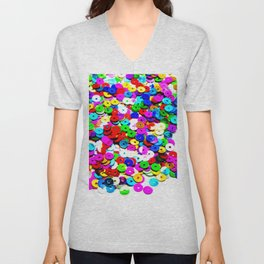 Colorburst Unisex V-Neck