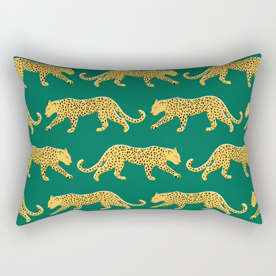 The New Animal Print - Emerald by apartmenttherapy