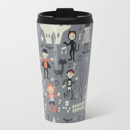 Love shack monsters halloween party Travel Mug