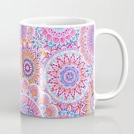 Mandala Maze Pink Coffee Mug