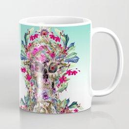 Momento Mori Floral Coffee Mug