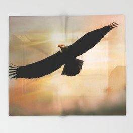 Soar High And Free Throw Blanket