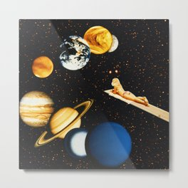 Planetary dream Metal Print