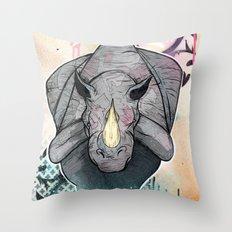 Stampede Part 2 Throw Pillow
