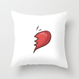 UL-TE Cute Soulmates for Valentine's Day Throw Pillow