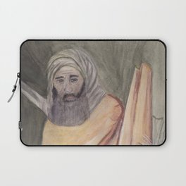 Reproduction of a Section of The Trial By Fire Fresco by Giotto Laptop Sleeve