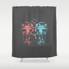 Probe Droid Lovin' Shower Curtain
