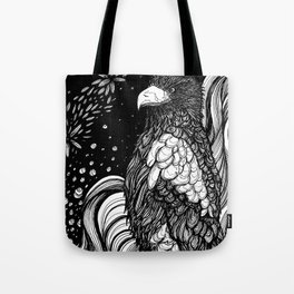 Steller's sea eagle (Haliaeetus pelagicus) Tote Bag