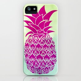 Pink Pineapple iPhone Case