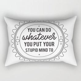 You Can Do It Rectangular Pillow
