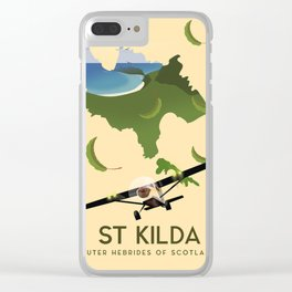 St Kilda, Outer Hebrides Scotland Clear iPhone Case