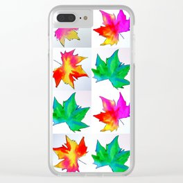 Watercolor prints Clear iPhone Case