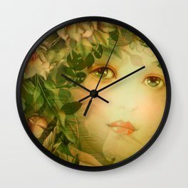 """The memory of an imagined childhood"" Wall Clock"