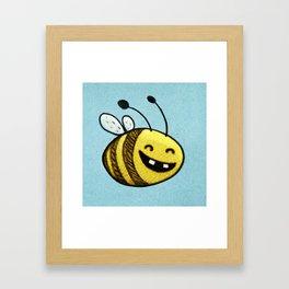 Bee 2 Framed Art Print