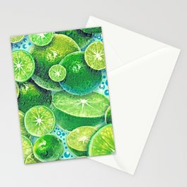 Lime Time Stationery Cards