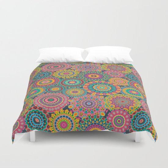 Kaleido-Eden colors Duvet Cover