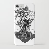 uncharted iPhone & iPod Cases featuring Ellie Last Of Us black by wady_yeti