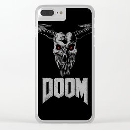 Doom - Icon of Sin Clear iPhone Case