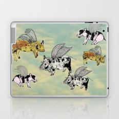 Pigs on the wing Laptop & iPad Skin