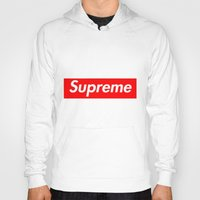supreme Hoodies featuring Supreme by Harry Martin