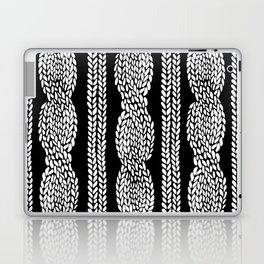 Cable Black Laptop & iPad Skin