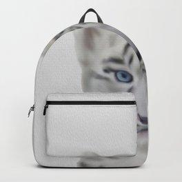 léopard des neiges Backpack