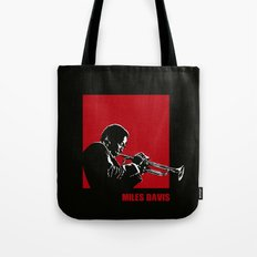 MILES / DAVIS [A Kind of Red][by felixx / 2016] Tote Bag