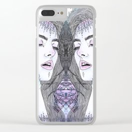 Lydia Modified Clear iPhone Case
