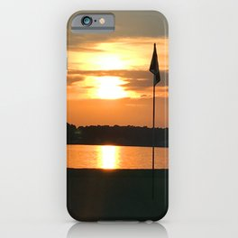 Bathe The Flag iPhone Case