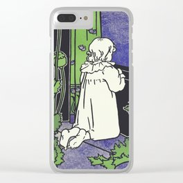 Across The Window Of My Dreams Clear iPhone Case