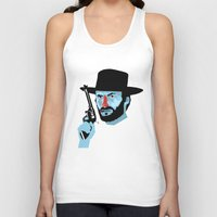 clint eastwood Tank Tops featuring Clint Eastwood by Eduardo Guima