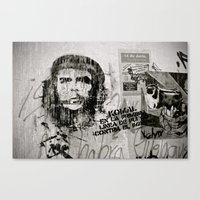 che Canvas Prints featuring CHE by Dave Houldershaw