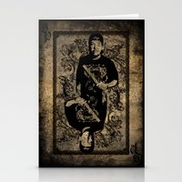 michael scott Stationery Cards featuring Scott by Dapper Dove