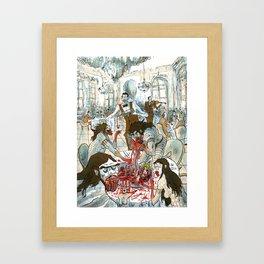 Bon appétit! Framed Art Print