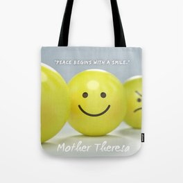Mother Theresa Quote Tote Bag