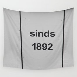 est. 1892 Wall Tapestry