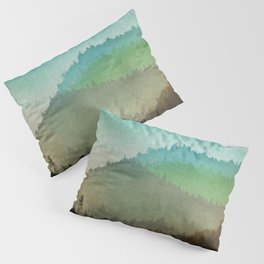 Watercolor Hills Pillow Sham