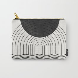 Black Sun by the ocean Carry-All Pouch