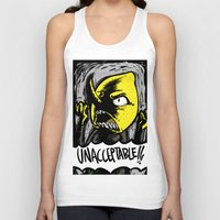 lemongrab Tank Tops featuring UNACCEPTABLE!!! by Eevachu
