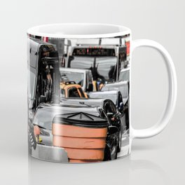 Black and colour New York City USA artwork Coffee Mug
