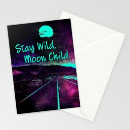 441 9 Stay Wild Moon Child Stationery Cards