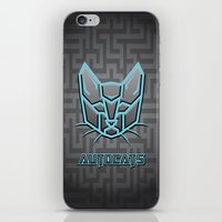 transformers iPhone & iPod Skins featuring Autocats Transformers by Enrique Valles